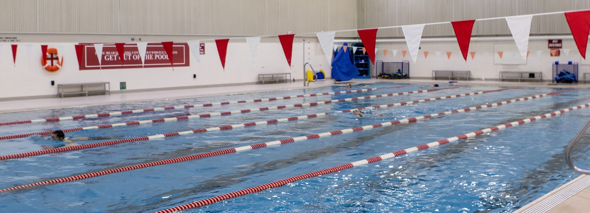 A photo of one of the Swimming Pools in Pearson and McGonigle Halls.