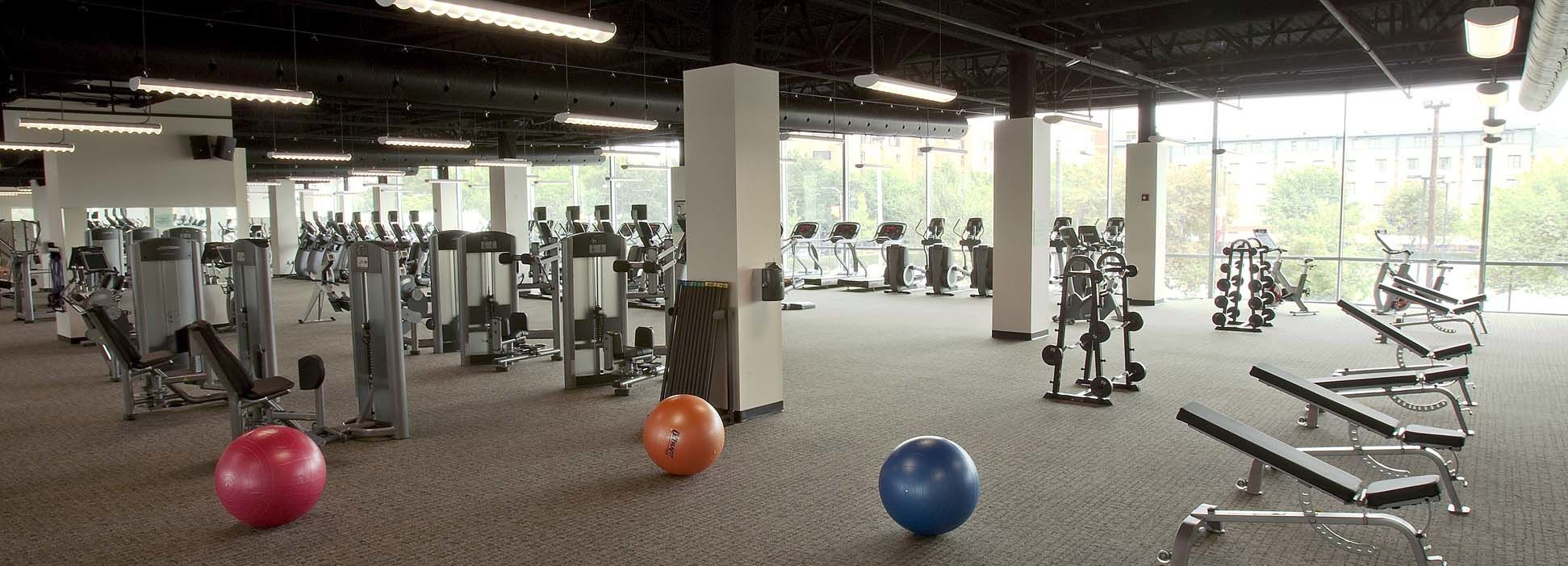 Gym facility equipment
