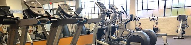 Cardio Equipment at the TASB Fitness Center