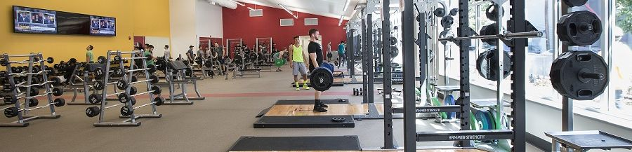 Weight room in STAR