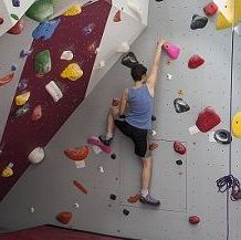 Climing wall at ASTAR